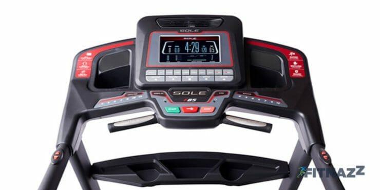 Sole F85 treadmill LCD Console