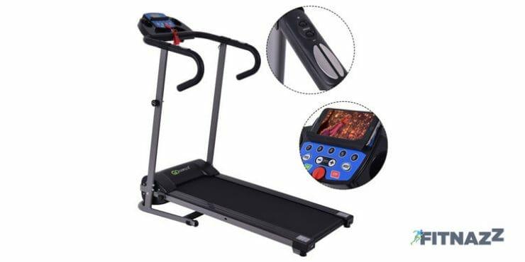 Goplus 1100W Folding Treadmill