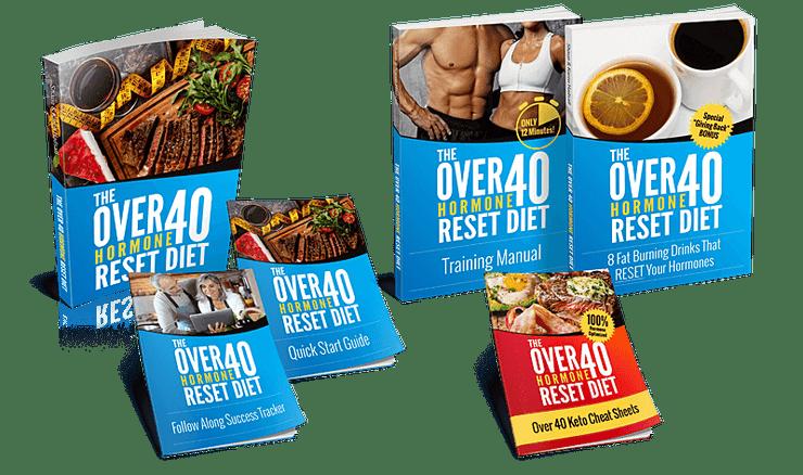 over 40 hormone reset diet program bundle